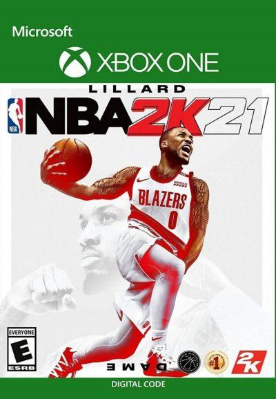NBA 2021 xbox one