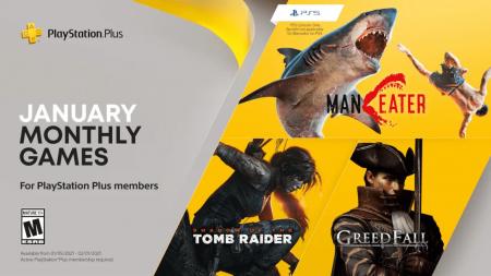 Playstation Plus jeux du mois Janvier 2021
