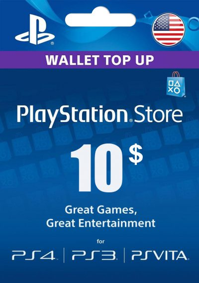 carte psn 10$ usa