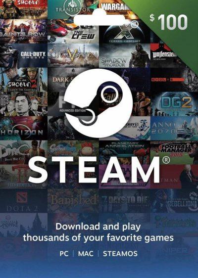 carte steam 100$ maroc
