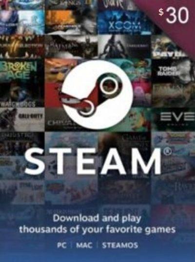 carte steam maroc 30$