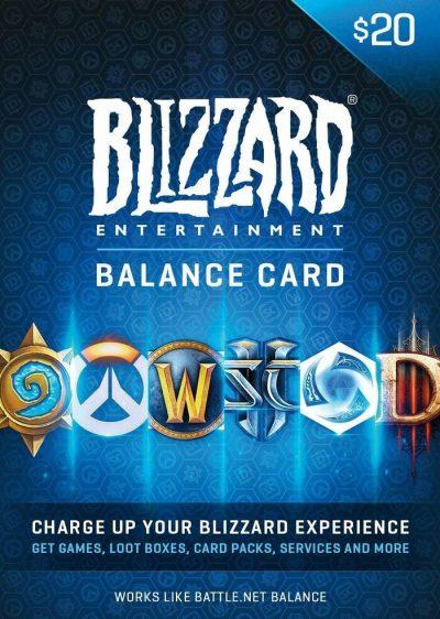 Carte Blizzard 20$ Maroc