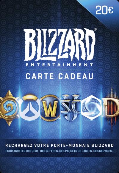Carte Blizzard 20 euro maroc