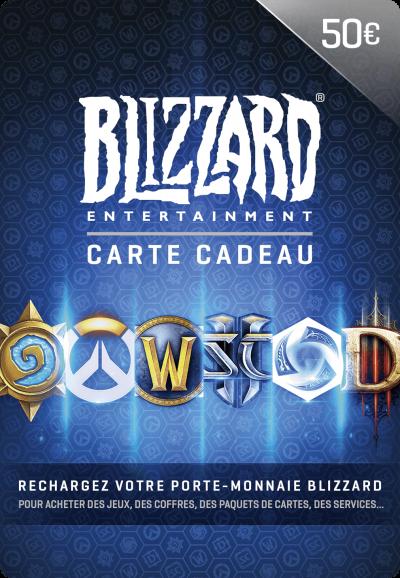 Carte Blizzard 50 Euro Maroc