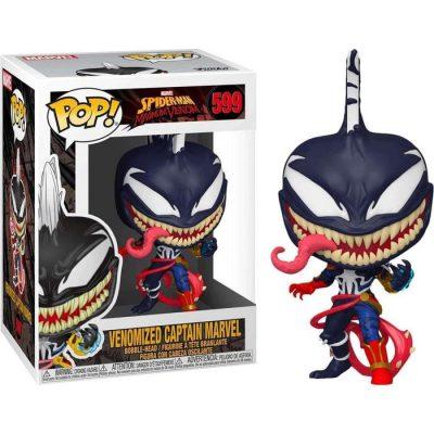 Figurine Funko POP : Marvel Venom - Captain Marvel