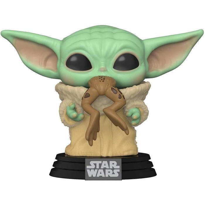 Funko Pop Star Wars The Mandalorian The Child with Frog Vinyl Bobblehead