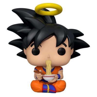 Figurine Funko POP : Dragon Ball Z – GOKU EATING NOODLES - Maroc