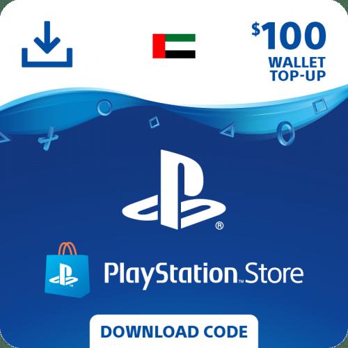 Carte PSN 100$ United Arab Emirates