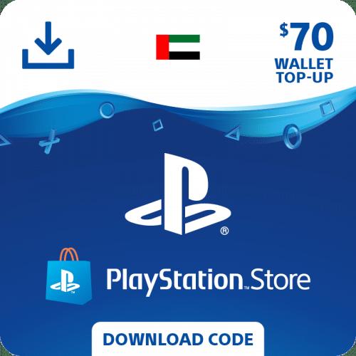 Carte PSN 70$ United Arab Emirates