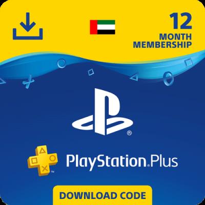 Carte PS Plus 12 Mois United Arab Emirates